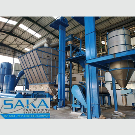 GRANULATION SYSTEMS saka6